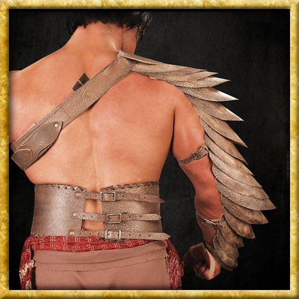 Spartacus - Leder Manica Crixus