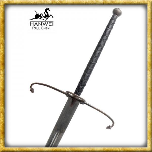 Schottisches Lowlander-Schwert Antik - Geschliffen