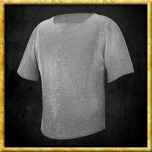 Leichtes Kettenhemd aus Edelstahl