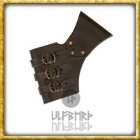 Verstellbarer Schwerthalter aus Leder