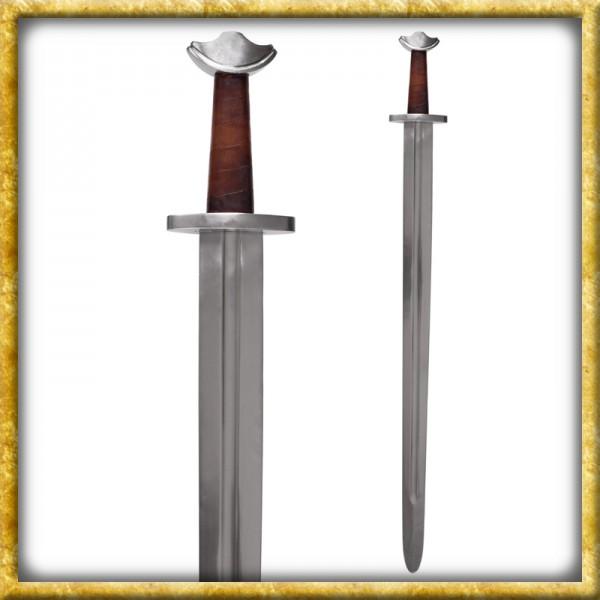Wikinger Tempelschwert mit Scheide für Schaukampf