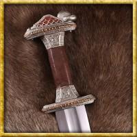 Vendelzeit Schwert mit Scheide - Verzinnt