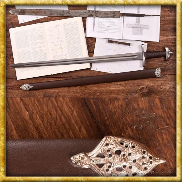 Wikingerschwert mit Scheide 10. Jh. für Schaukampf