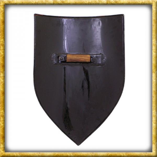 Wappenschild aus Stahl - Rohling zum Selbstbemalen