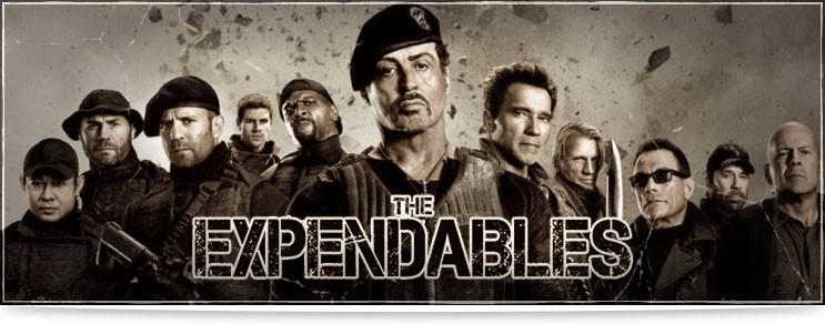 Waffen & Rüstungen aus The Expandables | Waffenmeister