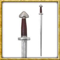 Wikingerschwert mit schmaler Klinge für Schaukampf