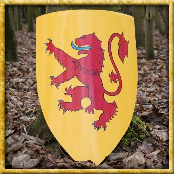 Schild von Robert the Bruce aus Holz