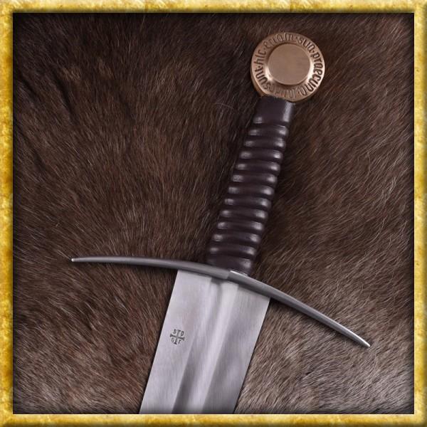 Einhandschwert mit Kupferknauf für Schaukampf