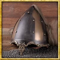 Helm der Rus mit Pferdehaarbusch