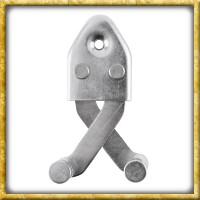 Schwert Wandhalter aus Stahl