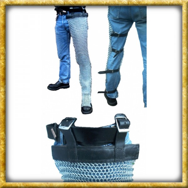 Verzinkte Kettenbeinlinge - Unvernieteter Stahl