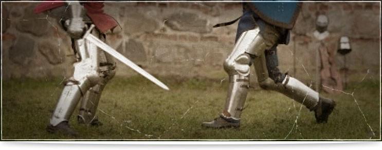 Plattenrüstungen für Beine und Füsse   Waffenmeister