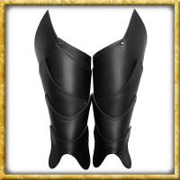 Beinschienen Kriegsherr - Schwarz