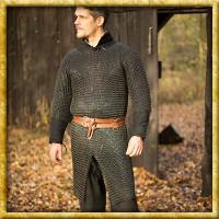 Kettenhemd Ragnar Epic Black - Unvernieteter Stahl