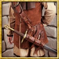 Schwerthalter Pirat - Braun