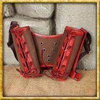 Doppelschwerthalter - Rot