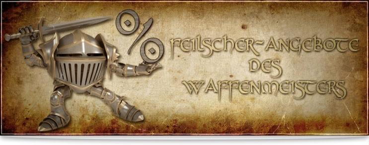 Mittelalter Waffen & Rüstungen zum kleinen Preis | Waffenmeister