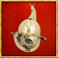 Gladiatorenhelm Thrakisch aus Messing