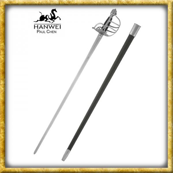 Mortuary Korbschwert für Schaukampf