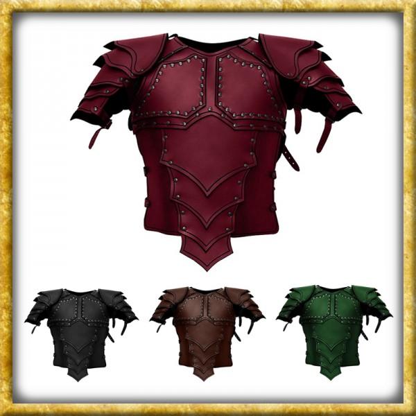 Lederrüstung mit Schultern Drachenreiter - Diverse Farben