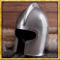 Helm Barbuta - 15. Jahrhundert