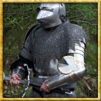 Spätmittelalterliches Armzeug - Platte