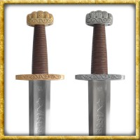 Wikinger Schwert Ballinderry für Schaukampf - Stahl oder Bronze