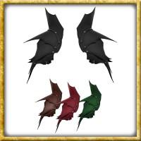 Lederschultern Dunkelelf - Diverse Farben