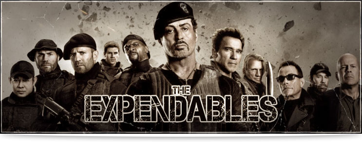 Waffenmeister | Waffen aus The Expendables