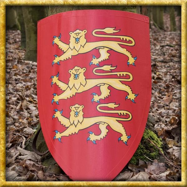 Schild von König Eduard I. aus Holz