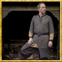 Verzinktes Kettenhemd Ragnar - Unvernieteter Stahl