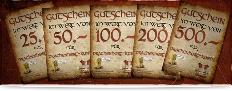 Mittelalter & Fantasy Gutscheine zum Schenken | Waffenmeister