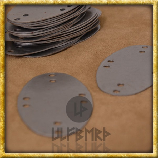 Stahlschuppen für Birka Lamellenrüstung - 25 Stück
