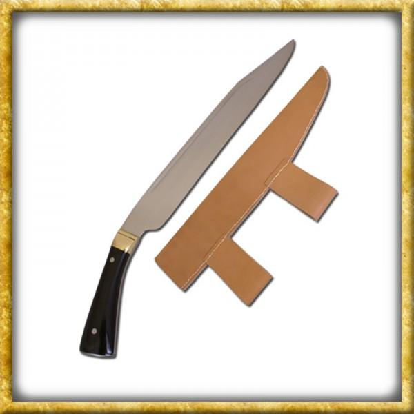 Langsax mit Horngriff - 9. Jahrhundert