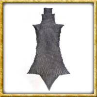 Brünierte Kettenbeinlinge - Unvernieteter Stahl