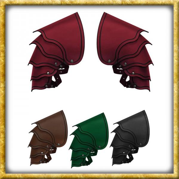 Lederschultern Drachenreiter - Diverse Farben
