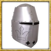 Grosser Topfhelm Black Prince - 14. Jahrhundert