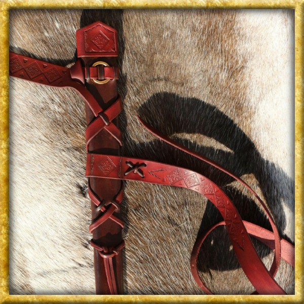 Schwertscheide Martel aus Leder - Nach Mass
