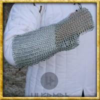 Armschutz aus Kettengeflecht