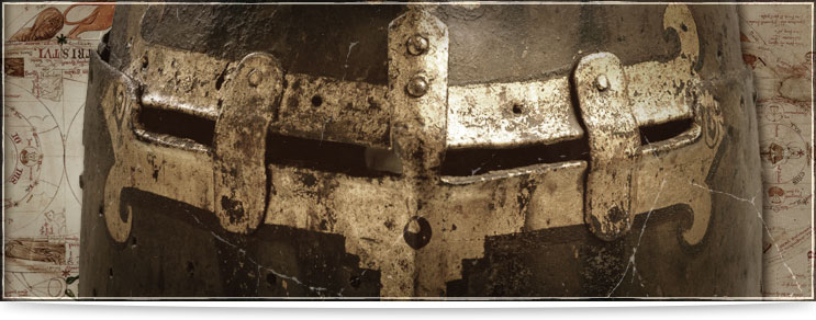 Waffenmeister | Helme des Hochmittelalters