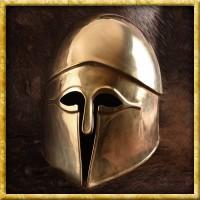 Früher Korinthischer Helm aus Messing